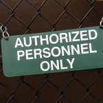 authorized peronnel only